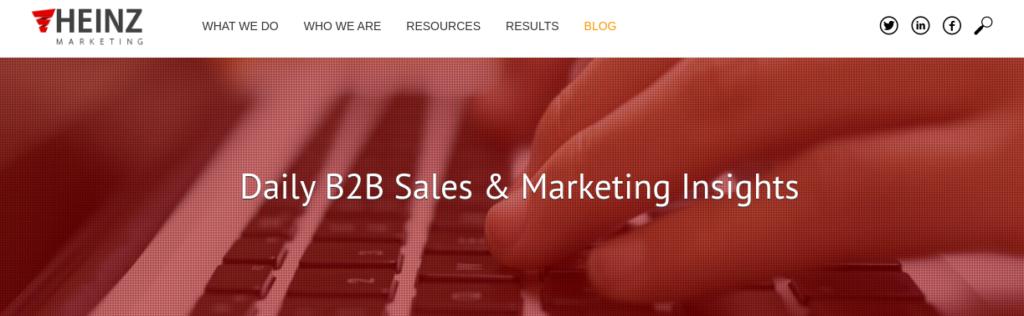 Heinz Marketing Blog